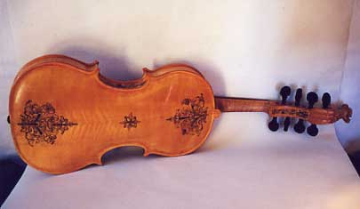 [The Hardanger Fiddle, back]